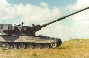 AS90 BRAVEHEART 155MM SELF PROPELLED HOWITZER
