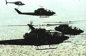 AH-1 Cobra- Anti Tank/Support Gunship Helicopter