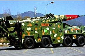 "Pakistans ""Shaheen"" missile"