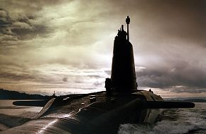 HMS VIGILANT. Nuclear powered Trident Submarine.CLYDE AREA OF SCOTLAND.