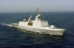 French Lafeyatte Frigate