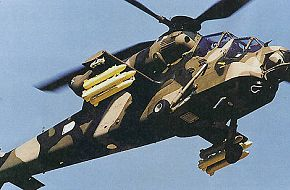SOUTH AFRICA - ROOIVALK ATTACK HELICOPTER