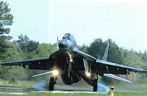 Polish MiG-29 on DOL