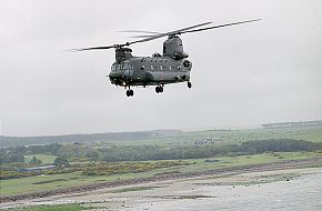 Chinook- Heavy lift helicopter