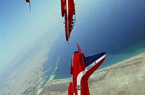 Red Arrows- RAF display team