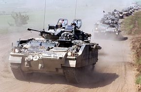 Warrior IFV- Infantry Fighting Vehicle