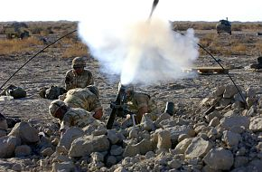 Mortar In Action