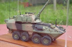 ASLAV 120mm MORTAR Carrier