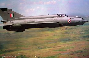 Mig-21 - Cope India 2006 - USAF and IAF Excercise