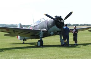 Curtiss Hawk - Flying legends 2005