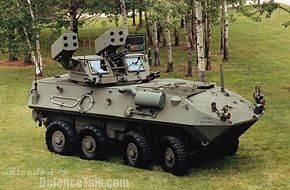 LAV-AD Light Armoured Vehicle Air Defense