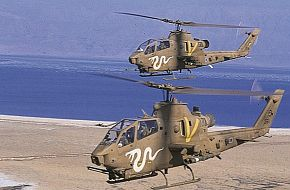 AH-1W Cobra Attack Helicopter - Israeli Air Force