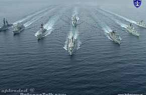 Hellenic Navy in formation