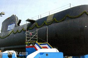 "Type 214 ""Papanikolis"" Submarine Hellenic Navy"