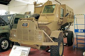 South African Buffel Personnel Carrier