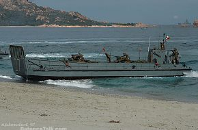 Destined Glory 2005 - Italian landing craft