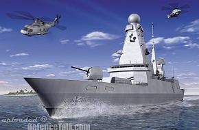 Type 45 Air Defence Destroyer - Royal Navy
