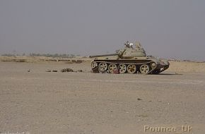 T55 outside Basra