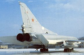 Tu-22M3 long-range bomber - Russian Air Force