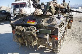 Wiesel armoured fighting vehicle - Germany Army