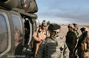 Soldiers from the Iraqi Army and US Army - Operation Iraqi Freedom