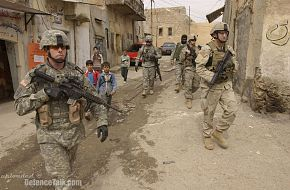 Soldiers from the U.S. Army - Operation Iraqi Freedom