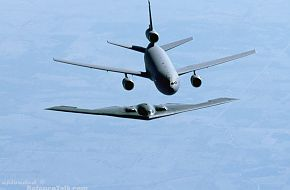 KC-10A Extender and B-2 Bomber - US Air Force
