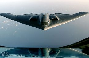 B-2 Spirit Stealth Bomber over Iraq - US Air Force