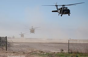 U.S. Army UH-60 Black Hawk Operation Iraqi Freedom