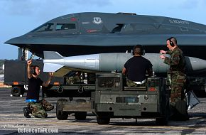 Putting the 'bomb' in B-2 Spirit Stealth Bomber - US Air Force