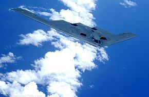 B-2 Spirit Stealth Bomber over the Pacific Ocean - US Air Force