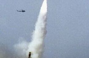 2nd test of babur cruise missile