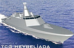 Milgem - Turkish Stealth Corvette