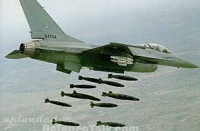 Picture of F-16 of Pakistan