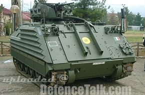 "VCC1 ""CAMILLINO"" armored Combat vehicle - Italian Army"