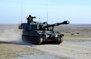 M109 155mm SP Howitzer - US Army