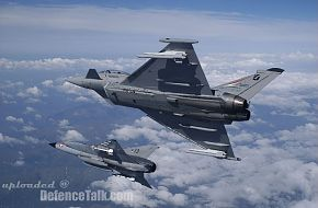 Austrian Typhoon and Draken