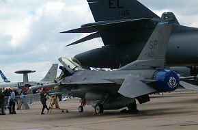 US Air Force (USAF) F-16 at the ILA2006 Air Show