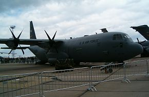 US Air Force (USAF) C-130 at the ILA2006 Air Show