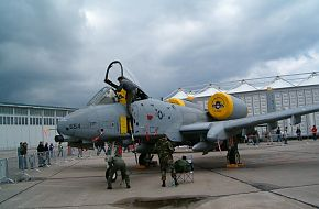 US Air Force (USAF) A-10 at the ILA2006 Air Show