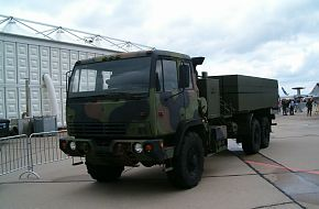 US Army Truck at the ILA2006 Air Show