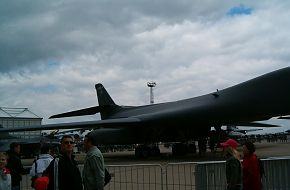 US Air Force (USAF) B-1B Lancer at the ILA2006 Air Show