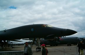 US Air Force (USAF) B-1B Bomber at the ILA2006 Air Show