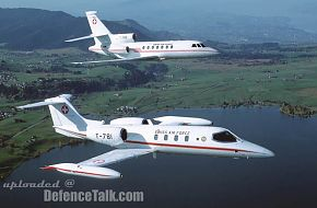 Swiss AF Falcon 50 and Learjet