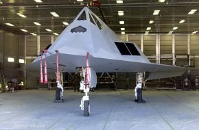 F-117 Nighthawk - United States Air Force (USAF) - A Nighthawk in Raptor's