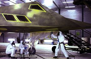 F-117 Nighthawk in Raptor color - United States Air Force (USAF)