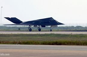 F-117 Nighthawk in for a take off - United States Air Force (USAF)
