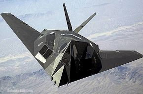 F-117 Nighthawk in flight - United States Air Force (USAF)