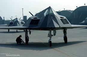 F-117 Nighthawk Training - United States Air Force (USAF)