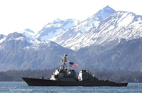 USS O'Kane USN - Northern Edge 2006 Air Force Excercise
